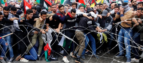 Lebanon's Palestinian refugees protest against U.S. 'Deal of the Century'