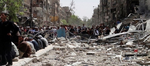 24 Palestinians Killed in Syria last month