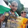 Pictures... Palestinian youths in a protest in anniversary of Balfour Declaration