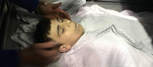 Israeli Snipers Kill 15-year-old Palestinian boy