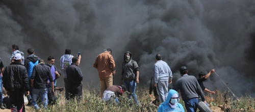 The missing story from the Gaza protests