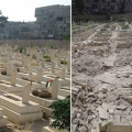 Burying the dead in Syria's Yarmouk camp