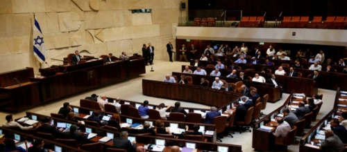A parliamentary vote to occupy history and the future