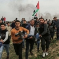 IOF Injure 33 Gazans during suppressing March of Return