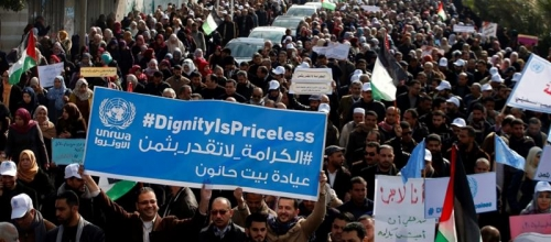 Trump's funding cuts to Palestinian refugees put lives at risk
