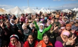 Palestinian refugees north of Syria appeal to Erdogan to step in
