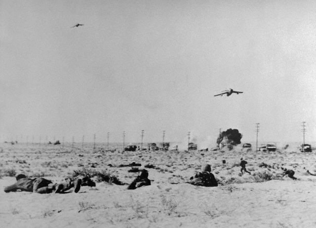The Spark Of The War Took Place When Israeli Air Force Fulfilled On  A Surprise On The Egyptian Air Forces And Airports Destroying 80
