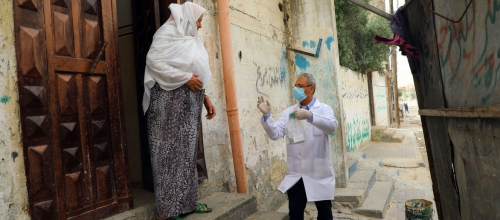 14 corona deaths, 1,084 new cases in Palestine within 24 hours
