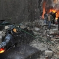 Twin bomb blasts shake Damascus suburb